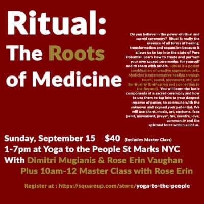 rituals the roots of medicine