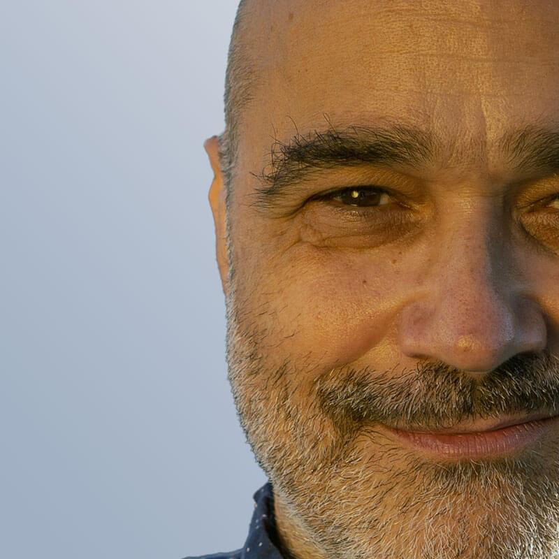 Dimitri Mugianis Close-up Portrait