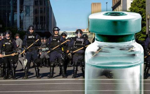 riot police medicine vial